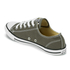 Converse Women's Chuck Taylor All Star Dainty Ox Trainers - Charcoal: Image 4