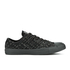 Converse Men's Chuck Taylor All Star Denim Woven Ox Trainers - Black/Storm Wind/Storm Wind: Image 1