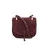Elizabeth and James Women's Zoe Saddle Bag - Bordeaux: Image 1