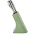 Morphy Richards 974802 5 Piece Knife Block Sage Green: Image 2