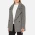Maison Scotch Women's Boxy Fit Short Wool Jacket - Multi: Image 2