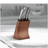 Morphy Richards 974819 5 Piece Knife Block - Copper: Image 2