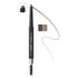 LashFood Eco-Precision 2-Tone Brow Pencil - Dark Brunette: Image 1