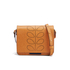 Orla Kiely Women's Mini Ivy Leather Cross Body Bag - Tan: Image 1