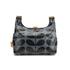 Orla Kiely Women's Linear Stem Print Laminated Mini Sling Bag - Midnight: Image 8