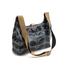 Orla Kiely Women's Linear Stem Print Laminated Mini Sling Bag - Midnight: Image 3