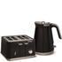 Morphy Richards Aspect Steel 4 Slice Toaster and Kettle Bundle - Black: Image 1