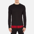 McQ Alexander McQueen Men's Recycled T-Shirt - Dark Black/Red Tartan: Image 1