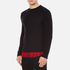 McQ Alexander McQueen Men's Recycled T-Shirt - Dark Black/Red Tartan: Image 2