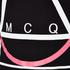 McQ Alexander McQueen Men's Abstract McQ Printed Long Sleeve Crew T-Shirt - Darkest Black: Image 5