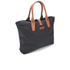 Barbour Women's Wax Shopper Bag - Navy: Image 3