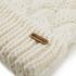 Barbour Women's Fur Pom Beanie - Snow: Image 3