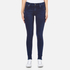 Polo Ralph Lauren Women's Varick Skinny Jeans - Dark Indigo: Image 1