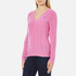 Polo Ralph Lauren Women's Kimberly Cashmere Blend Jumper - Wesley Pink Heather: Image 2