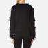 Sportmax Women's Zeda Bow Sleeve Sweatshirt - Black: Image 3