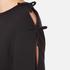 Sportmax Women's Zeda Bow Sleeve Sweatshirt - Black: Image 6