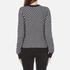 MICHAEL MICHAEL KORS Women's Graphic Jacquard Sweater - Multi: Image 3