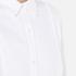 MICHAEL MICHAEL KORS Women's Cotton White Bib Shirt - White: Image 5