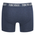 Tokyo Laundry Men's 2-Pack Port Douglas Boxers - Mood Indigo Marl/Mid Grey Marl: Image 3
