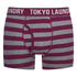 Tokyo Laundry Men's 2-Pack Yass Boxers - Rioja/Vintage Indigo: Image 2