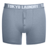 Tokyo Laundry Men's 2-Pack Port Douglas Boxers - Ashley Blue/Ice Grey Marl: Image 2
