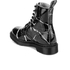 Dr. Martens Women's Pascal Patent Marble 8-Eye Boots - Black: Image 4