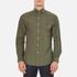 Polo Ralph Lauren Men's Long Sleeve Poplin Shirt - Rustic Sage: Image 1