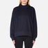 Samsoe & Samsoe Women's Volund T Neck Sweatshirt - Dark Sapphire: Image 1
