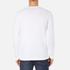 Lacoste Men's Long Sleeved Crew Neck T-Shirt - White: Image 3