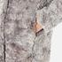 Karl Lagerfeld Women's Soft Curly Faux Fur Coat - Grey: Image 6