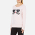 Karl Lagerfeld Women's Kocktail Choupette Sweatshirt - Rose Smoke: Image 2