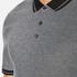 Michael Kors Men's Tipped Birdseye Polo Shirt - Black: Image 5