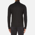 Michael Kors Men's Long Sleeve Sleek MK Polo Top - Black: Image 3