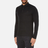 Michael Kors Men's Long Sleeve Sleek MK Polo Top - Black: Image 2