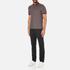 Michael Kors Men's Tipped Birdseye Polo Shirt - Burgundy: Image 4