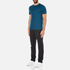 Michael Kors Men's Sleek MK Crew T-Shirt - Pacific Blue: Image 4