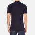 Versace Collection Men's Collar Detail Polo Shirt - Navy: Image 3