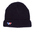 Maison Kitsuné Men's Ribbed Beanie Hat - Navy: Image 1