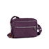 Kipling Women's Deena Medium Cross Body Bag - Plum Purple: Image 1