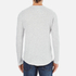 Selected Homme Men's Ludvig Long Sleeve Top - Light Grey Melange: Image 3