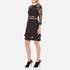 Three Floor Women's Parallel Dress - Black: Image 2