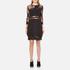 Three Floor Women's Parallel Dress - Black: Image 1