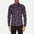 PS by Paul Smith Men's Printed Long Sleeve Shirt - Navy: Image 1