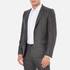 PS by Paul Smith Men's Fully Lined Single Breasted Jacket - Grey: Image 2