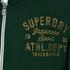 Superdry Men's Trackster Vintage Zip Hoody - Enamel Green: Image 5