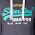 Superdry Men's Vintage Logo New Hoody - Grape Juice Jaspe: Image 6