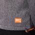 Superdry Men's Windtrekker Coat - Dark Grey Grit/Fluro Orange: Image 7