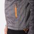 Superdry Men's Windtrekker Coat - Dark Grey Grit/Fluro Orange: Image 6