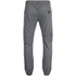 Brave Soul Men's Fine Cuffed Chinos - Grey: Image 2