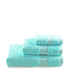 Restmor 100% Egyptian Cotton 3 Piece Towel Bale - Seafoam: Image 1